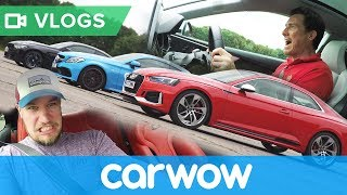 Filming an epic new drag race series with Supercars of London | MatVlogs
