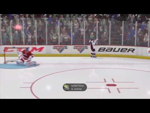 NHL 14 Shootout Commentary #1