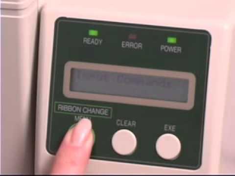 Nisca PR5350 Card Printer - Basic Maintenance