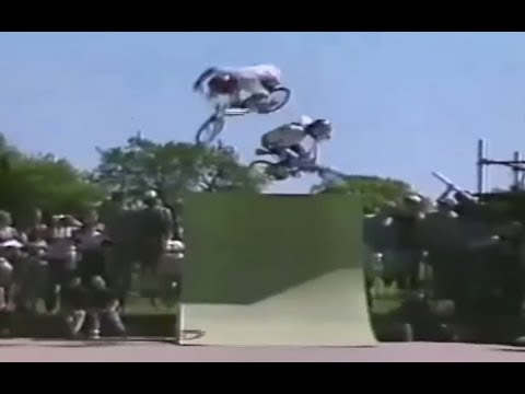 BMX 'Double Aerial' Ron Wilkerson & Brian Blyther