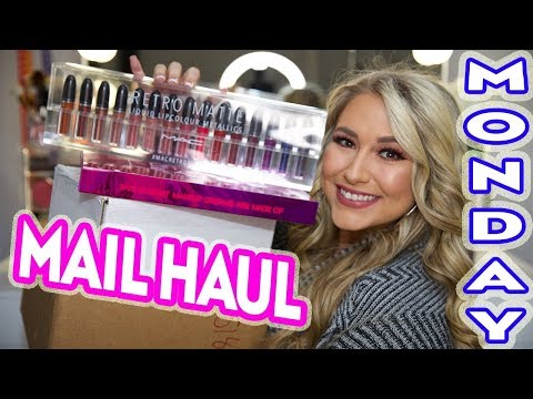 Mail Haul Monday ft. Mac Cosmetics, Urban Decay, Online Makeup Academy & more!