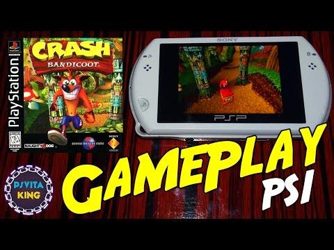 Crash Bandicoot PS1/PSOne/PSP Go GamePlay + Walkthrough [4K]