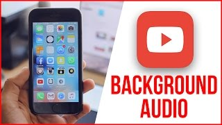 Play YouTube Videos In The Background iOS 9 (NO JAILBREAK) iPhone, iPad, iPod