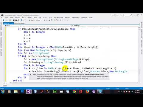 Project My Notepad Part 7 in VB NET 2012