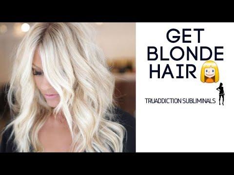 Get BLONDE HAIR  SubliminalsAffirmations ~TruAddiction Subliminals💋