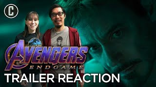 Download Avengers: Endgame Trailer #2 Reaction and Review Video