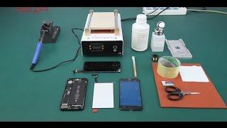#x202b;شاهد كيف تتم صيانة شاشة الايفون المكسورة بدون تغيير الشاشة الاصلية#x202c;lrm;