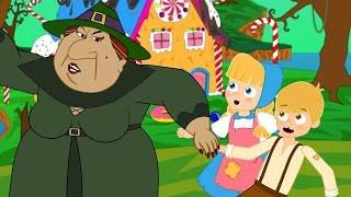 Hänsel e Gretel cartoni animati italiano - Favole per bambini raccontate