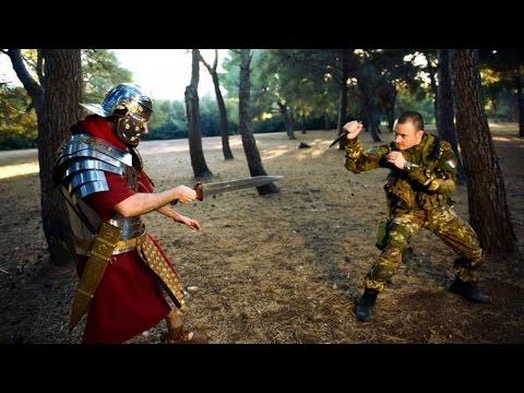 Modern Italian Soldier vs Ancient Roman - FULLY INTERACTIVE VIDEO