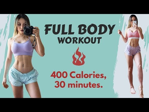 Intense Full Body Workout | Burn 400 Calories in 30 Min At Home