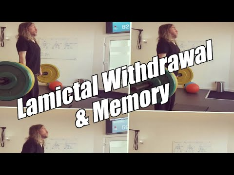 Lamictal Withdrawal And My Memory Experiments