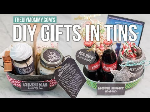GIFT BASKET IDEAS for CHRISTMAS | The DIY Mommy