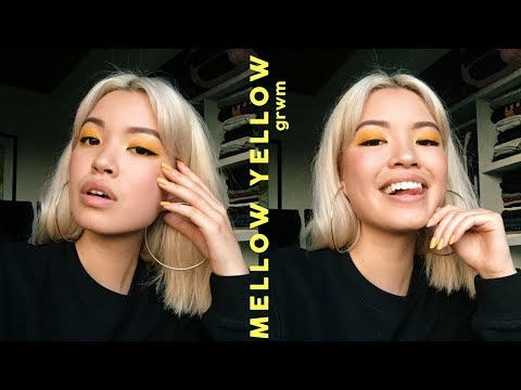mellow yellow   grwm + first impressions