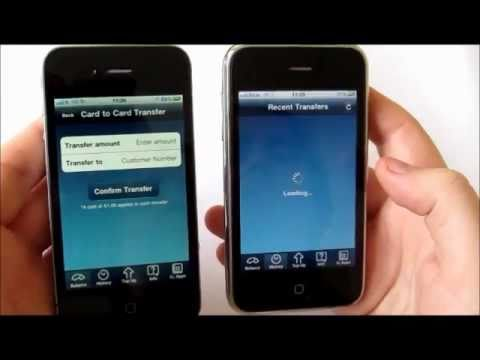 o2 movie, transferring funds using your o2money card.wmv