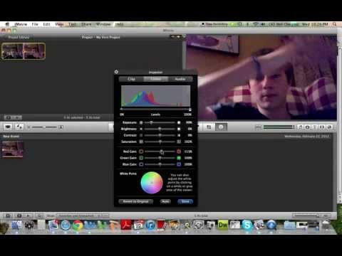 iMovie Tutorial: How to Speed up, Slow down, Change Color and Audio