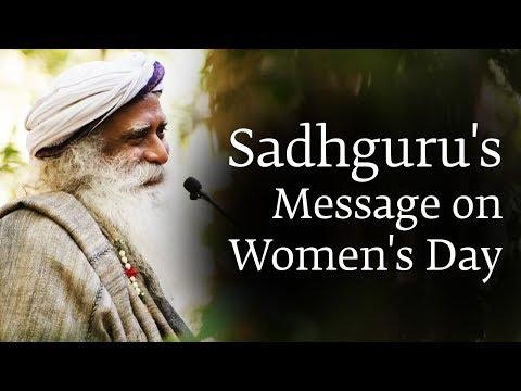 Let the Feminine Flow - Sadhguru on Women's Day