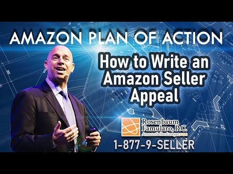 Amazon Plan of Action - How to Write an Amazon Seller Appeal