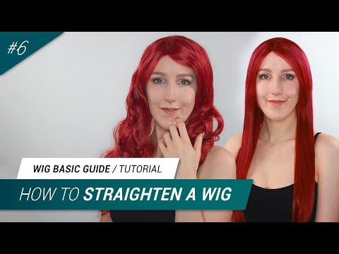 #6 How to straighten a synthetic wig (4 Methods) | Jak Cosplay