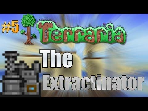 Let's Play Terraria (1.3) Mac- The Extractinator! Episode 5
