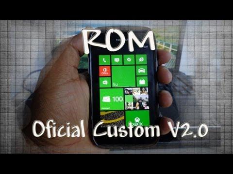 ROM Oficial Custom V2.0 & Instalar XAP Nokia Lumia 710