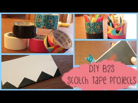 3 Back to School DIYs Featuring Scotch® Duct Tape!
