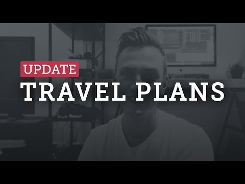 TRAVEL PLANS for 2017! — Bali, NZ, Australia, Thailand, Japan, UK...