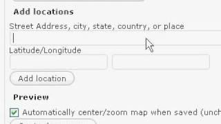 Come inserire mappe di Gooogle Maps in Wordpress