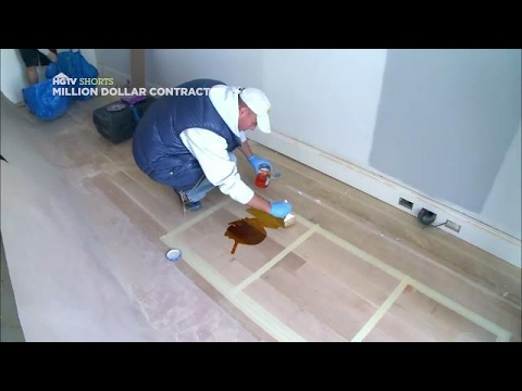 Choose the Perfect Floor Stain | Million Dollar Contractor | HGTV Asia