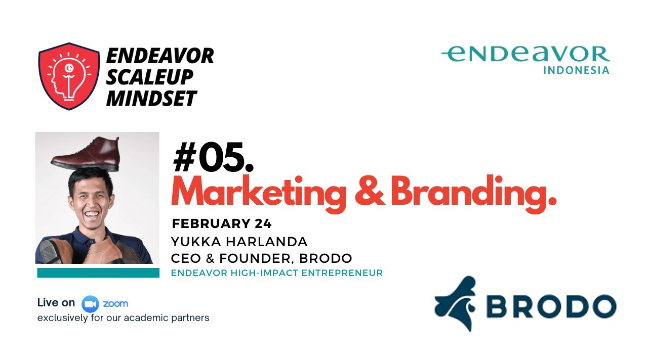 #05 Marketing & Branding with Yukka Harlanda of Brodo