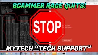 LOGGING INTO A TECH SUPPORT SCAMMERS WEBSITE