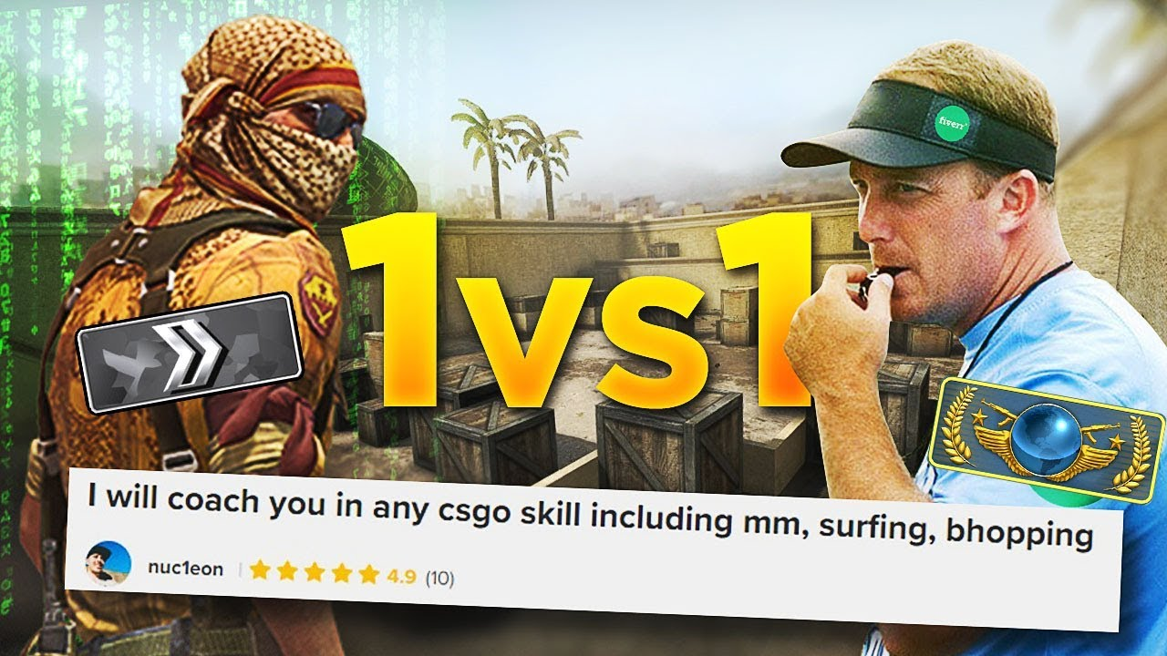 I hired a coach on fiverr, pretended to be a noob, then challenged him to a 1vs1...