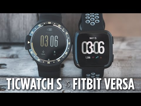 Ticwatch S vs Fitbit Versa