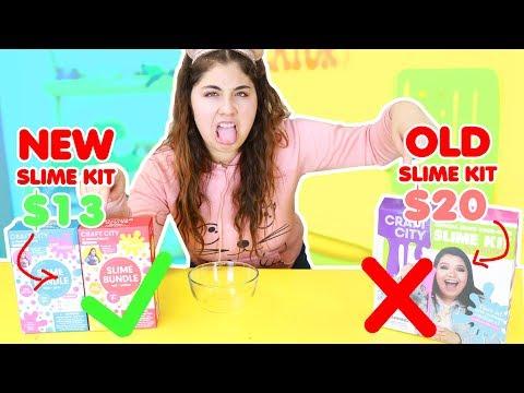 KARINA NEW SLIME KIT VS OLD SLIME KIT ~ is it worth it? Slimeatory #349