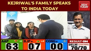 Exclusive: Arvind Kejriwal's Family Speaks To India Today After AAP's Hat-trick Victory