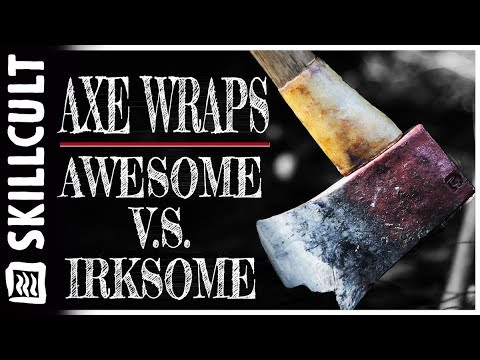 Few Axe Handle Wraps and Collars Meet These Criteria...