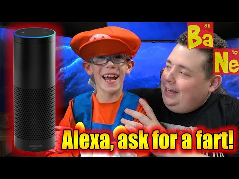 Amazon Echo Farts in Command! My kids favorite feature.