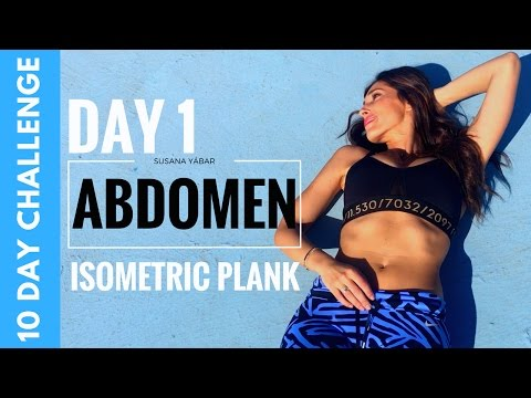 Flat Abs in 10 Days | Plank Exercise Challenge Day 1