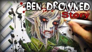 Ben Drowned: STORY - Creepypasta + Drawing