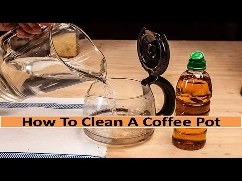How To Clean A Coffee Pot - Simple and Easy Steps