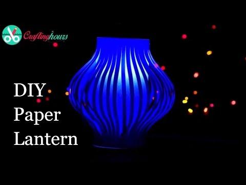 DIY Paper Lanterns Making Craft for Diwali Decoration