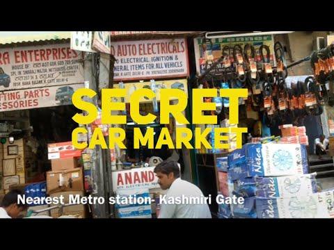 India's Biggest wholesale Car/Bike Spare parts and accessories market Kashmiri Gate