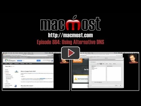 Using Alternative DNS (MacMost Now 884)