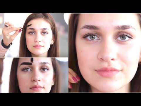How to Change Perfect Best Eyebrow Shape For Round Face 2017