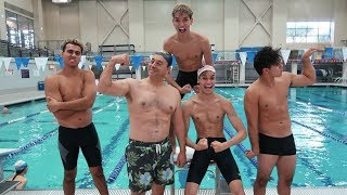 HILARIOUS SWIMMING COMPETITION!