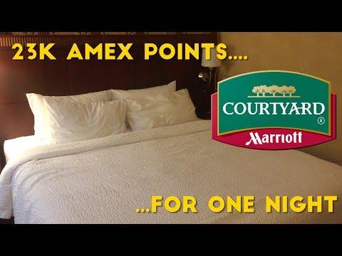 Amex Rewards Booking: 23k Points for Marriott Courtyard