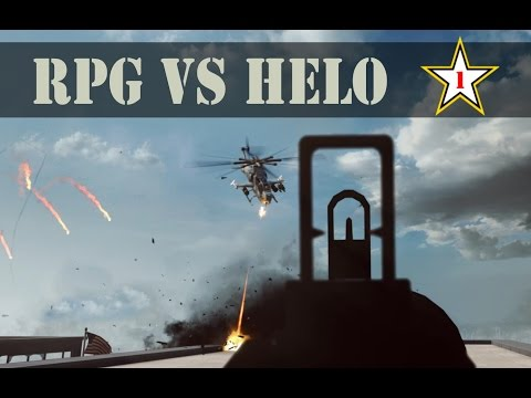RPG vs Helicopter #1 - Battlefield 4 Highlights