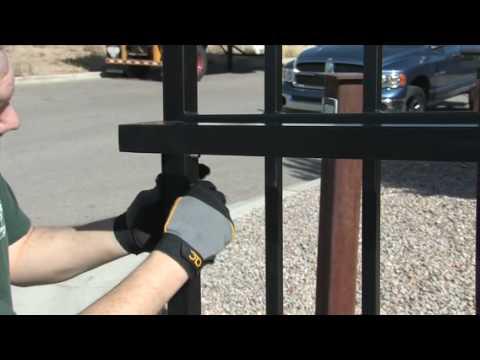 Amazing Gates Sliding Gate System Installation