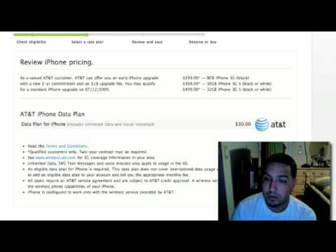 iPhone 3GS Upgrade Pricing Overview