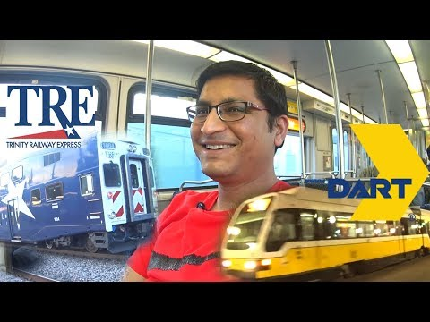 Trains of Dallas | DART & Trinity Railway Express