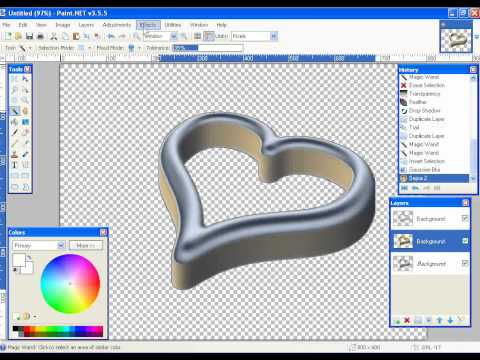 Make gold in Paint.NET part-1